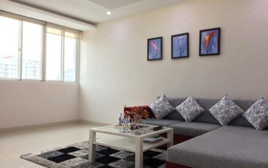 Serviced apartment for rent in district 1, HCMC - Living room 241