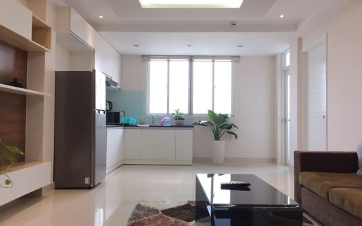 Serviced apartment for rent in district 1, HCMC - Living room 253