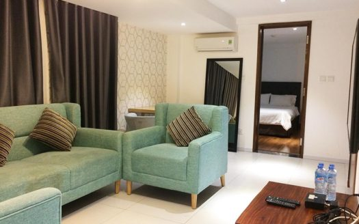 Serviced apartment for rent in district 3, HCMC - Living room 133