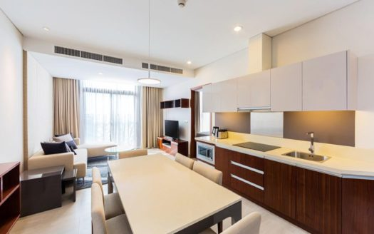 Serviced apartment for rent in district 3, HCMC - Living room 98