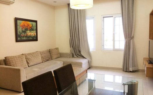 Serviced apartment for rent in Thao Dien, district 2, HCMC - Living room 185