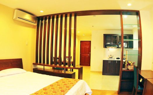 Serviced apartment for rent in district 1, HCMC - Living room 626