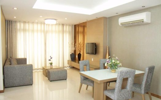Serviced apartment for rent in Thao Dien, District 2, HCMC - Living room 327