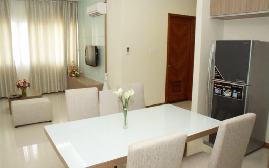 Serviced apartment for rent in Thao Dien, District 2, HCMC - Living room 355